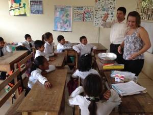 LEP in classroom in ecuador